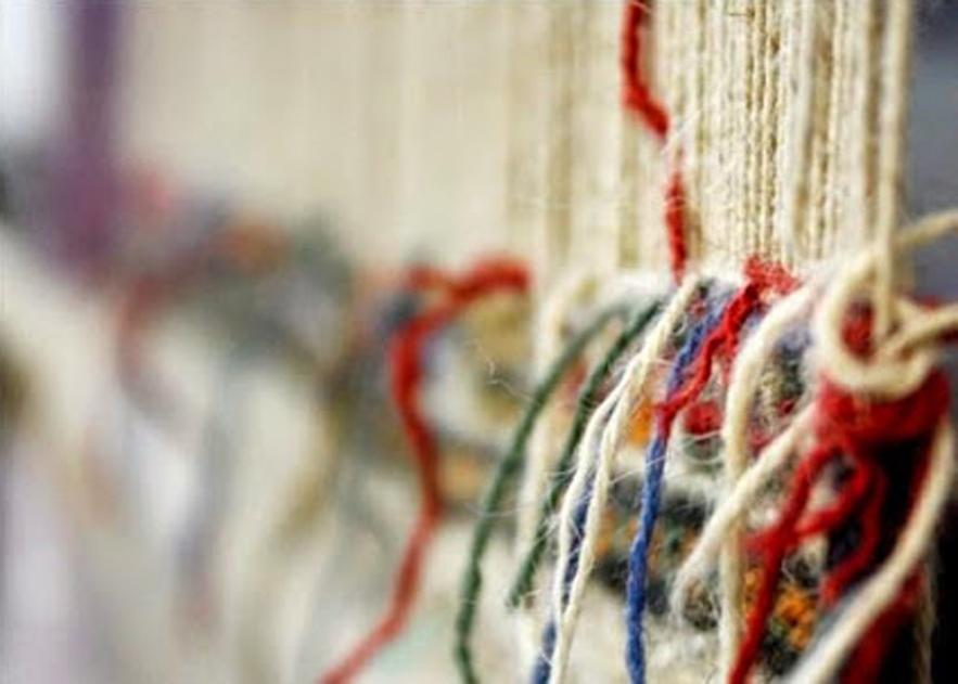 Réparation et restauration de tapis kilim