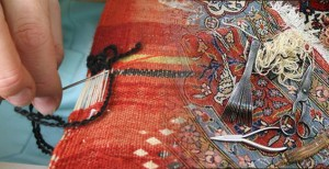 restauration tapis anciens