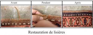 Restauration de lisières