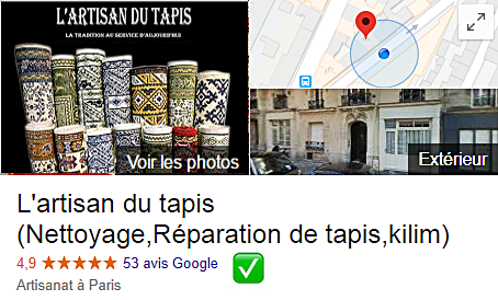 restauration de tapis