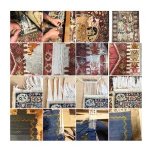 Réparation de tapis kilims